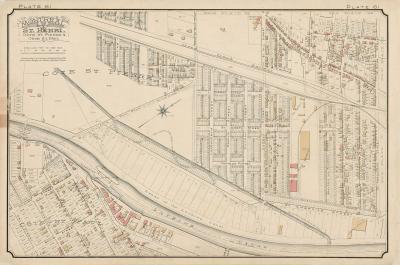 Plan ancien de Saint-Henri.