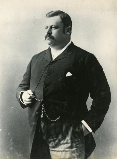 Portrait de Louis-Joseph Forget en 1887