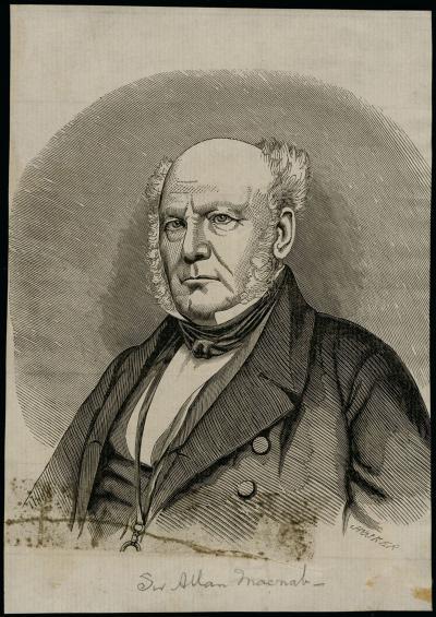 Portrait de Sir Allan Macnab