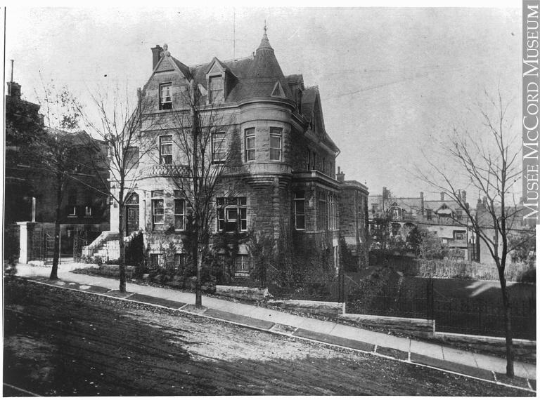 La résidence de Herbert Samuel Holt, considéré par plusieurs comme l'homme le plus riche du Canada.