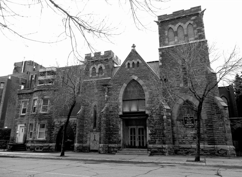 L'édifice de l'Union united church en 1958