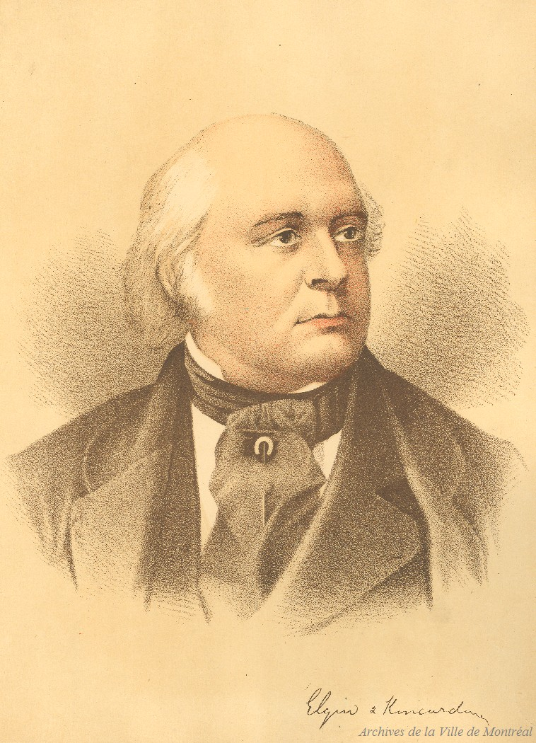 Portrait de Lord Elgin