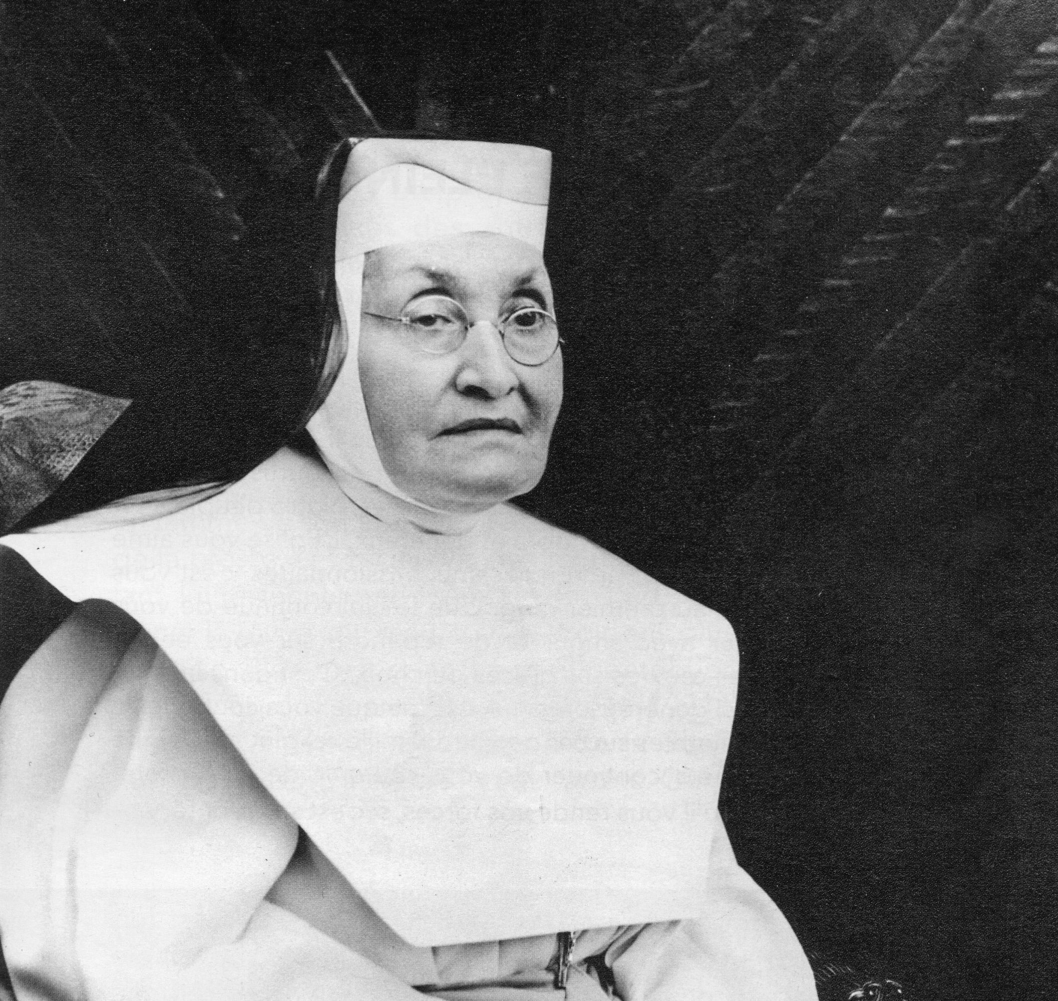Délia Tétreault devenue sœur Marie-du-Saint-Esprit