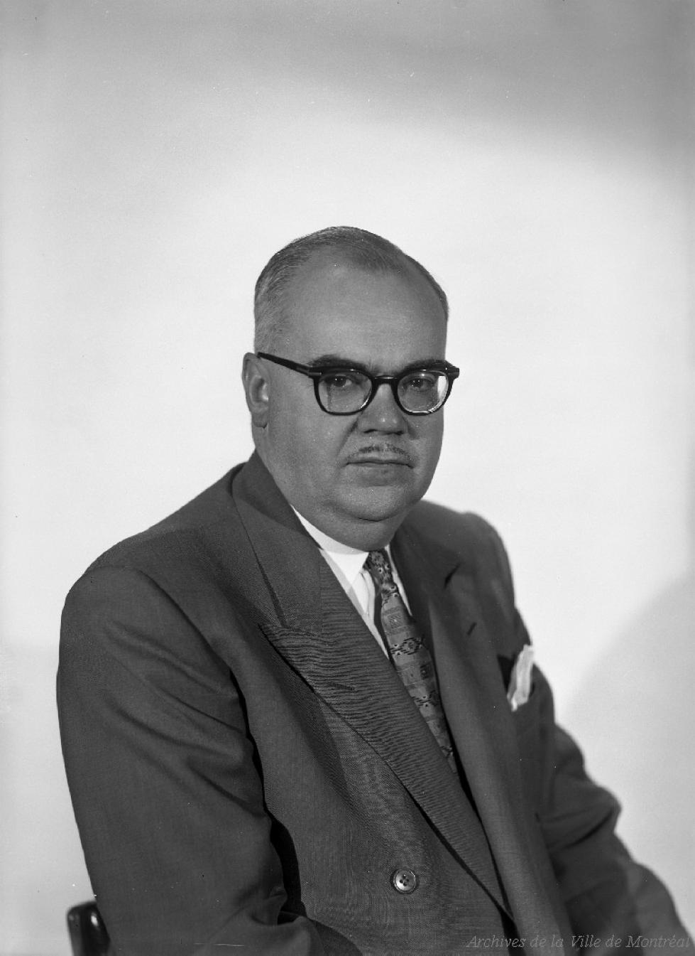Portrait taille de Lucien L'allier
