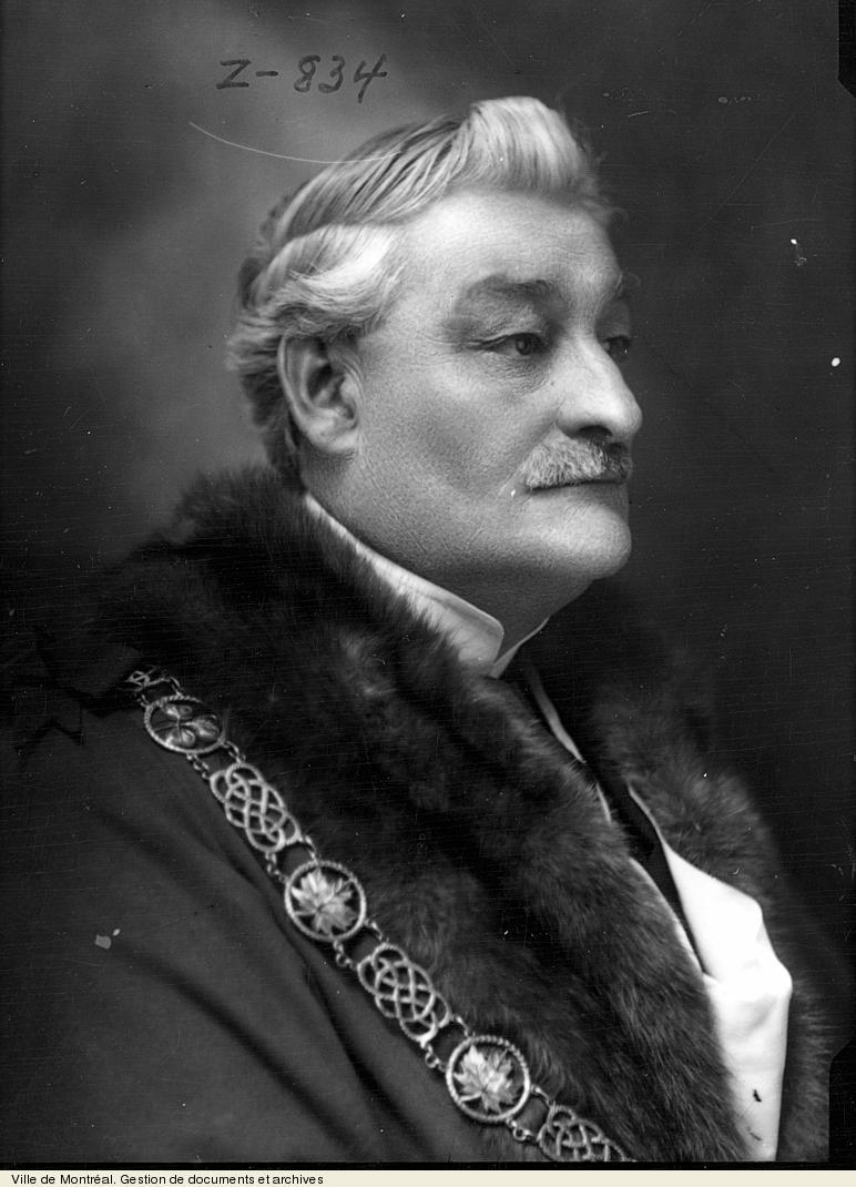 Portrait de Médéric Martin.