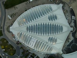 Vue aérienne du Biodôme