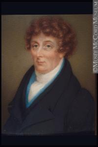 . Portrait de Sir James Monk.