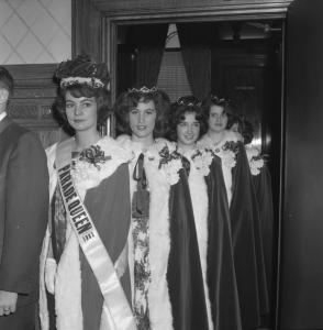 La reine et les princesses de la parade de 1963.