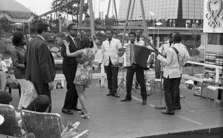 Spectacle au pavillon d'Haïti à l'Expo 67
