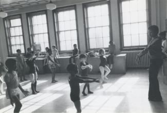 Cours de danse pour des enfants