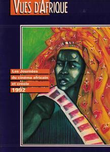 Affiche du Festival Vues d'Afrique signée Marie-Denise Douyon.