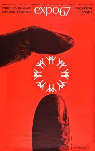 Affiche officiel de l'Expo 67