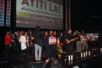 Les Montréalais de toutes origines commémorent le 5e anniversaire du tremblement de terre en Haïti