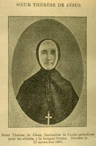 Photo d'une religieuse