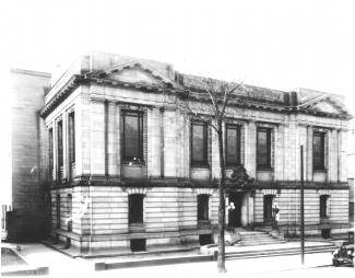 Façade de l'édifice Saint-Sulpice