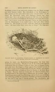 Dessin de sépulture de Westmount