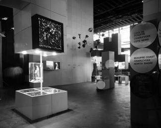 Vue intérieure du pavillon du Québec