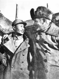 Bethune et un jeune étudiant chinois