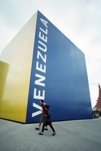 Pavillon du Venezuela.