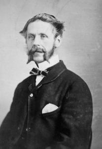 Portrait de Stanley Clarke Bagg en 1863.