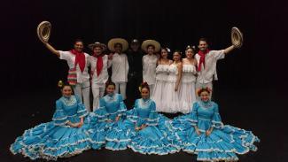 La troupe de Ballet Raíces de Colombia