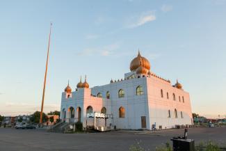 Temple sikh à LaSalle