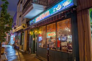 Restaurant péruvien sur la rue Saint-Hubert