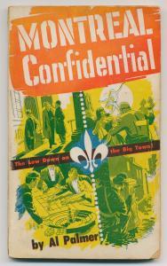 La couverture du livre Montreal Confidential qui illustre plusieurs scènes de la vie nocturne montréalaise.