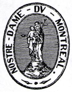 Sceau armorié de la Société de Notre-Dame de Montréal