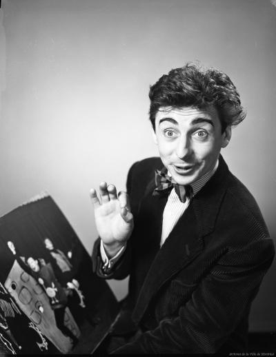 Paul Buissonneau en 1956.