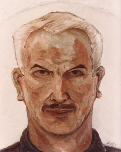 Peinture représentant un homme