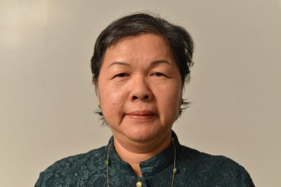 Photo en gros plan d'une femme cambodgienne