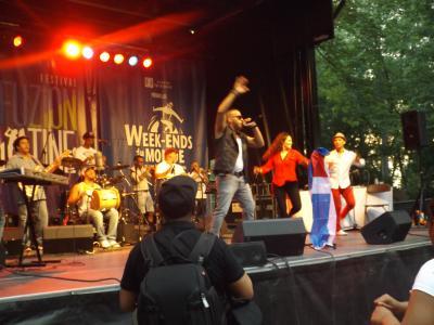 Spectacle au Week-ends du monde au parc Jean-Drapeau à l'été 2014