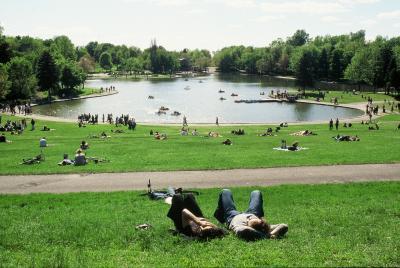 Lac aux Castors, mont Royal.