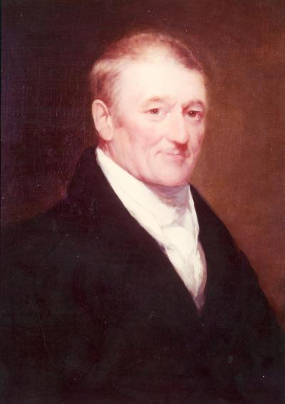 Portrait de John Molson.