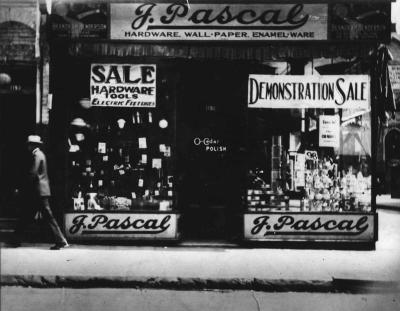 La première quincaillerie Pascal située au marché Saint-Laurent.