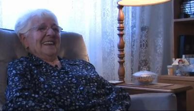 2010. Françoise Lemieux au moment de son entrevue.