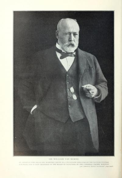 Portrait de William Van Horne