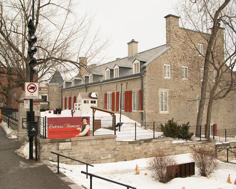 Photo extérieur récente du Château Ramezay