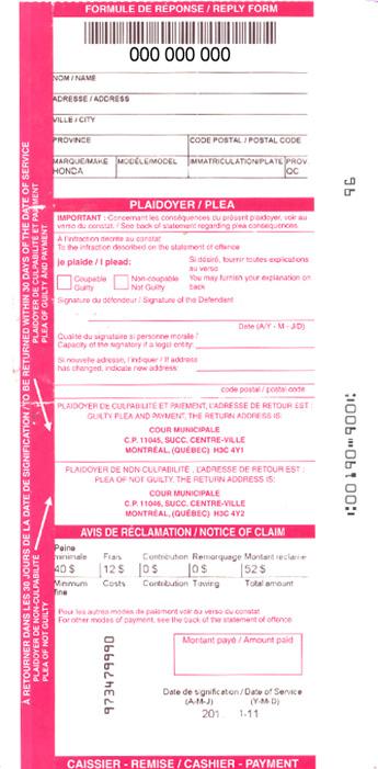 Ville de Montréal - Official city portal - Who can pay online?