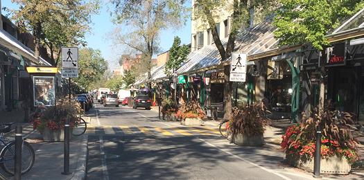 Réaménagement de la rue saint-hubert