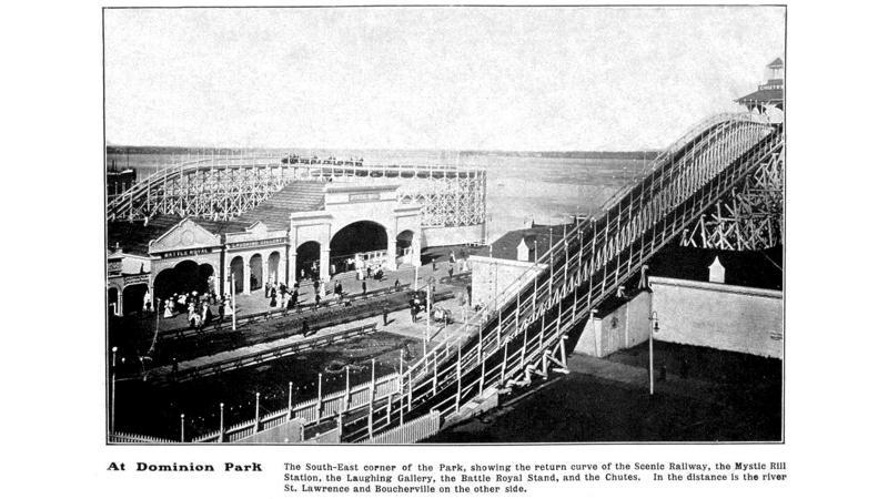 Parc d'attractions Dominion.
