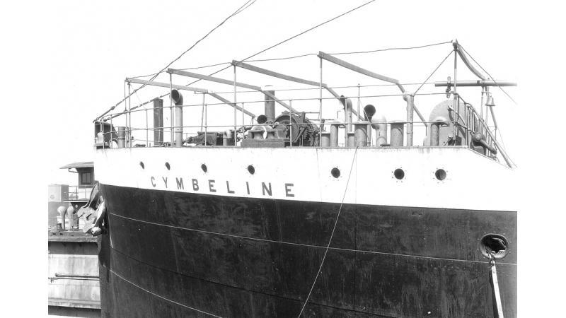 Le pétrolier Cymbeline.