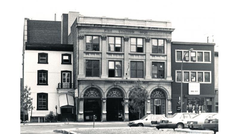 Caserne 25 en 1984