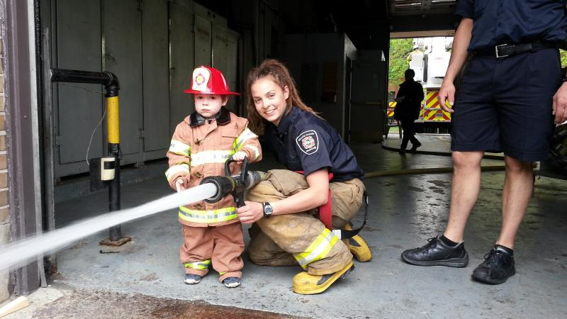 Open House in 9 fire stations on October 15, from 8:30 to 11:30 a.m.