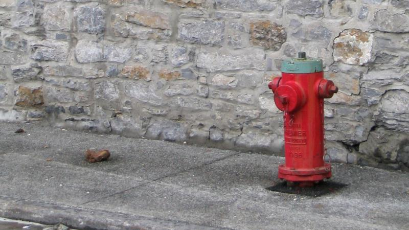 Fire Hydrant.