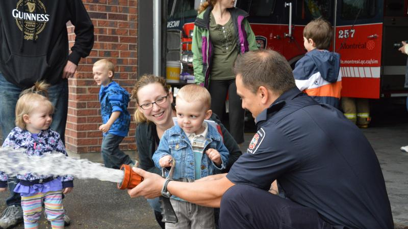 Open house at fire station 57