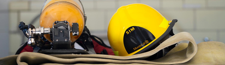 Équipement de pompiers
