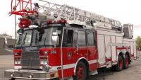 100-foot aerial ladder
