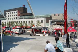 Launch of Fire Prevention Month in Montréal